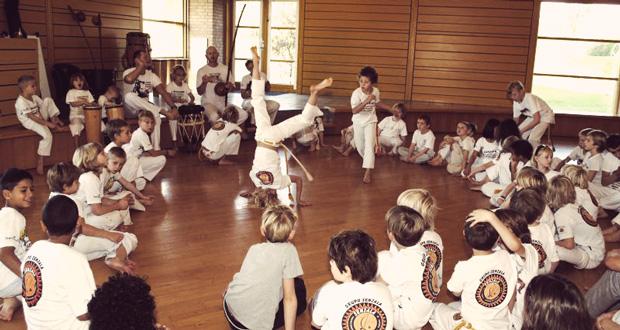 Børnecapoeiralejr på Gerlev Idrætshøjskole