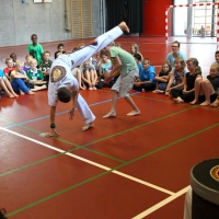 Capoeira kursus på Falkenborgskolen