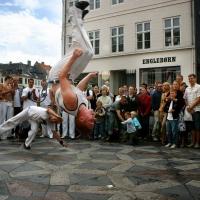 Show på Strøget i København