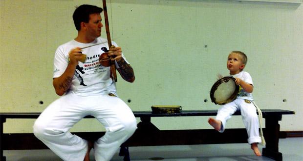 Capoeira for forældre og børn på Frederiksberg