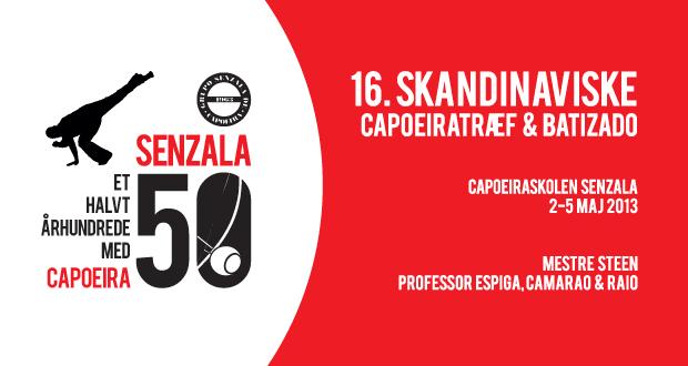 16. Skandinaviske Capoeiratræf - 2-5 maj 2013